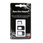 iPhone5購入者向け nanoSIM変換アダプター